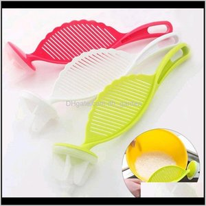 Utensils Kitchen Accessories Cooking Tool Stirring Colander Device Multi Colors Useful Convenient Creative Wash Rice Strainer Dh0457 S Toa7J