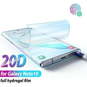 For Samsung Note 10 9 8 Pro A70 A60 A40 A80 A90 M30 M20Full Cover HYDROGEL 10D Film Soft Screen Protector