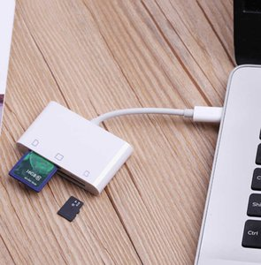 3in1 USB 3.1 Type C Card Reader USB-C TF Microsd SD CF OTG Adapter For HuaweI Samsung For XIAOMI Android Phone Macbook Laptop C