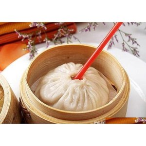 Other Cookware 35 Inch Mini Bamboo Steamer Basket With Lid For Soup Meat Dumplings Baozi Dim Sum Vegetable Steaming Cooking Tools Rest Zfqm3