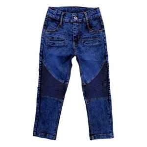 Jeans IENENS Boy's Sweatpants Sexy Folds Pants Casual Spring Autumn Kids Skinny Trousers Slim Stretch 4 5 6 7 9 10 Years