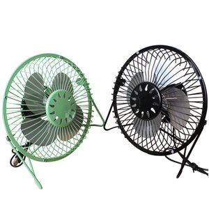 High Quality 360 Rotate Metal USB Fan Mini Portable Colored Summer Home Office Desk Electric Cooling