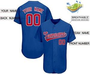 Пользовательские новизны на пуговицах бейсбол Джерси персонализированные вышивки мужчины женщины мальчика молодое имя и номер высшего качества для марки Giftsshirt 18
