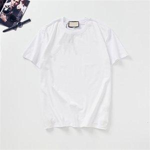 패션 망 티셔츠 여름 디자이너 티셔츠 인쇄 고품질 T 셔츠 힙합 남성과 여성 반팔 GSX