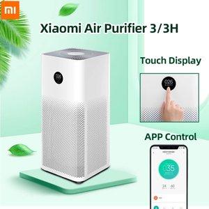 Xiaomi Purificador de aire 3 3H Filtro MI Cleaner Air Cleaner Fresco Ozono Hogar Auto Smoke Formaldehyde Esterilizer Cube Smart Mijia Control de aplicaciones
