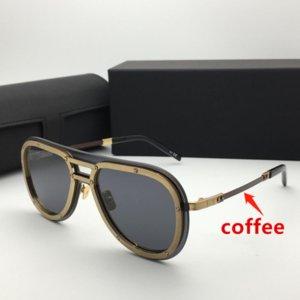 Summer sunglasses for men and women H007 anti-ultraviolet retro plate fashion glasses random box