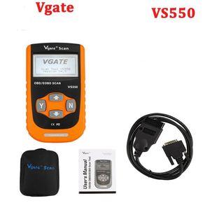 Professional Car Diagnostic Tool Vgate Maxiscan VS550 EOBD Scan Auto Code Reader OBD2 Escaner Automotriz VS 550 @8 Tools