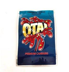 OTA e Gas Joke's Up Runtz Danger Pressure Bags Shark Lato Mylar Bag Balla Berries 85mm * 125mm odore borse a prova di odore 420 Imballaggio di fiori