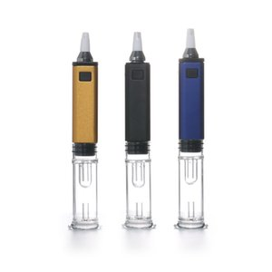 Authentic G9 Greenlightvapes Gdip Dabber Portable Mini Dab Rig kit 1000mAh ENail Collector Straw with Glass Bubbler Water Pipe