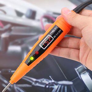 Vehicle Circuit Test Detector Repair Kit Tools Pen Self Diagnosis Digital Display Voltage Tester-Pen Power Probe Car Diagnostic Tool