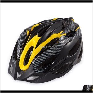 Cycling Helmets Bike Bicycle Riding Protective Helmet Integrated Molding Outdoor Sports Equipment Outer Shell With Impactabsorbing Foa Pbimc