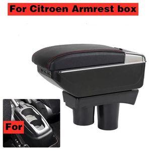 Car Organizer Armrest Box Center Storage Accessory USB For Berlingo Retrofit Parts Partner Tepee