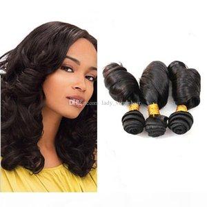 Double Drawn Funmi Hair 9A Aunty Funmi Hair Romance Curls 100% Peruvian Natural Color Human Hair Extension Bouncy Curl Egg Curl Stock