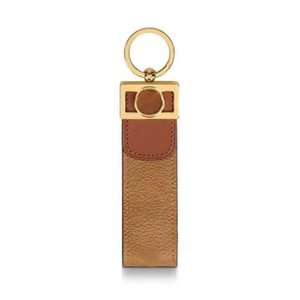 2021 fashion luxury designer keychains for Women and Men Sublimation Blanks keychain gold Alloy Leather Car key ring lovers keys rings chain Unisex 10-color charms
