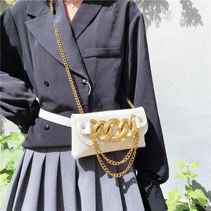 Branded Mini Crossbody Bags For Women Luxury Purse Fashion Metal Chain Shoulder Bag Leather Stone Pattern Belt Bag Women Clutche