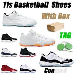 11 hombres zapatillas de baloncesto mujer 11s zapatilla de deporte low concord bred gamma blue gorra y bata para hombre zapatillas deportivas