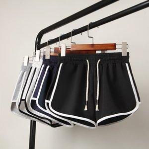 New sports style three-part Yoga show thin loose pocket large size shorts women's hot pants pajamas girls womenXUPI