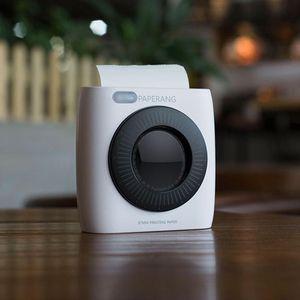 Original Paperang P2 Pocket Mini Po Printer 200dpi BT4.0 Phone Connected Wireless Bluetooth Portable Thermal Label Printers