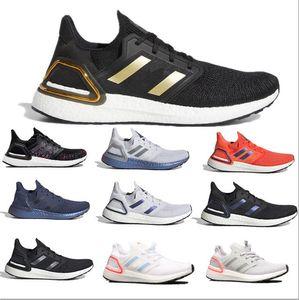 أحذية فائقة بالأبيض والأسود 19 20 primedknit oreo cny الأزرق رمادي الرجال النساء الجري ultraboost الرياضة رياضة