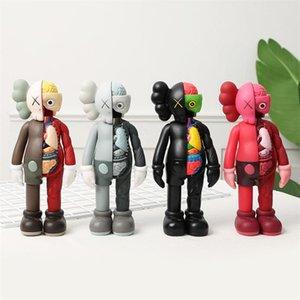 High quality 20CM Originalfake KAWS figures 8-inch anatomical partner original box removable doll model decoration toy gift