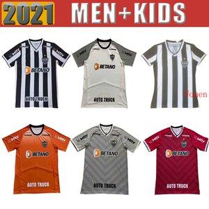 2021 2022 Atletico Mineiro Soccer Jerseys GUGA VARGAS M.ZARARACHO Jersey Casa Away 3a 21 22 Camicia da calcio