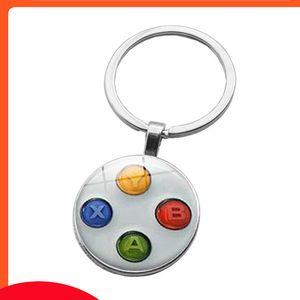 Accessories nostalgic game handle time Keychain Keyring pendant creative trinkets
