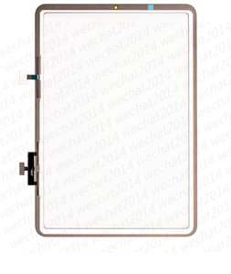 50PCS Touch Screen Glass Panel Digitizer for iPad Pro 10.9 Air 4 2020 A2316 A2324 A2325 A2072 free DHL