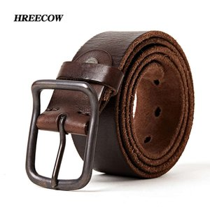 Top quality leather digner men luxury belt fashion vintage pin buckle for jeans store star products5OY5