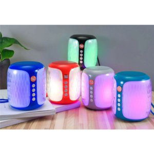 TG611 Colorful Light Wireless Mini Bluetooth Speaker Outdoor Sport Battery Capacity Charging Input 5V 500MA Portable Column Speakers