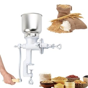 Honhill Manual Grains Mill Spices Hebals Cereals Coffee Dry Food Grinder Grinding Machine Gristmill Home Flour Powder Crusher 210910