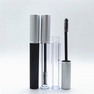 3ml Empty Mascara Tubes Silver Cap Eyelash Tube Eyeliner Bottle Cream Cosmetic Packaging Container