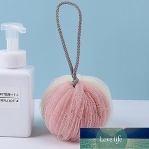 Bath Towel Bathroom Accessories Cleaning Mesh Shower Balls PE Bath Ball Body Exfoliating Tool Portable bath shower Scrubber