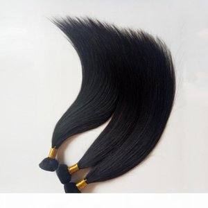 European human Hair Weft Straight natural color fictile Stylish sexy lady hair extensions 8-26inch 100gNo fiber, no synthetic,best quality