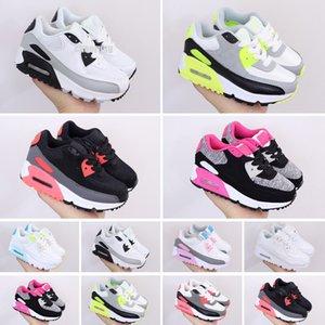 Max 90 مصمم العلامة التجارية الجديدة للأطفال أحذية طفل رضيعs كلاسيكي 90 الأطفال بوي وغريل الرياضة