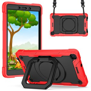 Heavy Duty Rugged Shockproof Stand Anti Drop Silicone Tablet PC Cases & Bags with 360 Degree Rotating for iPad 10.2 10.5 11 Samsung TAB A 8.0 10.1 10.4