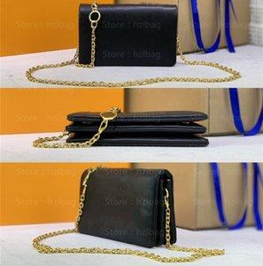 Pochette Coussin Women Chain Bags soft embossed lambskin clutch shoulder or belt luxury bags