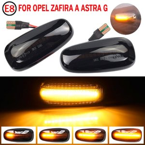 2pcs LED Car Light For Astra G 1998-2009 Turn Signal Lamp Dynamic Side Marker Blinker Flowing Lighting Auto Accessories Emergency Lights