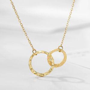 Frauen Edelstahl Anhänger Halskette Chokers Für Frauen Fashion Jewlery Beste Freundkette Halskette