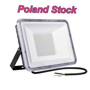 100W Led Flood Lights Outdoor Bright Security Floodlights Outside Lamp IP66 Waterproof Cool White Spot Exterior Fixtures Lighting