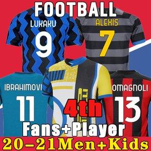 ERIKSEN Inter LAUTARO Škriniar 2021 Mailand Fußball-Trikots BARELLA Lukaku 19 20 21 TOP-Qualität Fußball-inter-Fußball-Hemd Uniform
