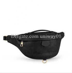 Woman waist bag chest handbag embossed patterns men purse flower serial number quality shoulder bags handbags wholesale luxury designer