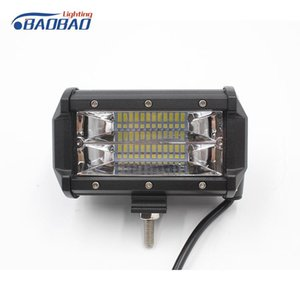 Car Headlights Wholesale Factory Directly 72w Led Fog Lamp Offroad Light 12v Work For Truck