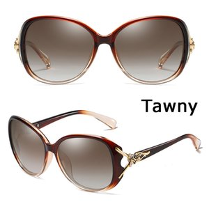 Coolsir da sole Occhiali da sole classici Retro Riso Unghie Grande cornice Occhiali da sole PC Specchio a specchio Piedino Polarizzato Guida femminile 8842