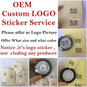 OEM Custom sticker service for custom's have own brand package like 3D mink eyelashe magnetic eyelashes and hair remover 's retail