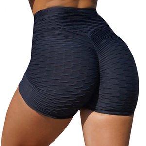 Damen Shorts Butt Hub Hohe Taille Yoga Pure Farbe Sommer Mädchen Sport Laufende Hosen Tik Tok Leggings