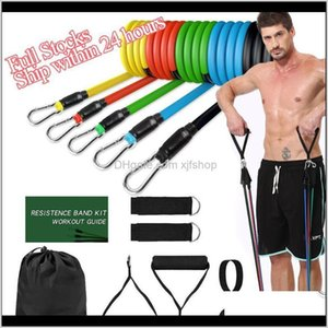 Resistance Bands Set Crossfit Stretch Training Yoga Exercises Fitness Band Rubber Expander Tubes For Home Gym Pilates Pull Rope Mze2L Q8Vzn