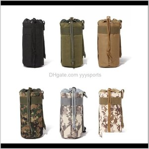 500Ml Tactical Molle Kettle Pocket Bottle Holder Gear 600D Hydration Pouch Hunting Water Bag Usct1 Bocuh
