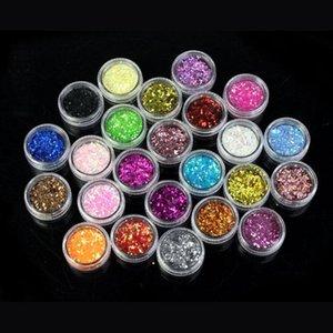 Colors Spangle Glitter Nail Art Paillette Acrylic UV Powder Polish Polymer Builder 2021 Carving Pattern Decorati Kits