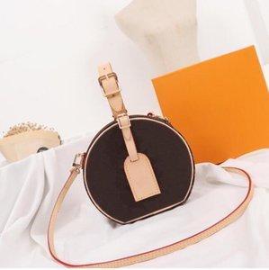 زهرة كلاسيكية عكس جولة المرأة الأزياء حقيبة crossbody بيتيت boite chapeau iconic hatbox رائعتين اليوم إلى مساء مصغرة الهاتف pratical