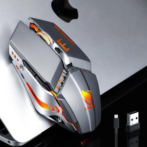 Mice JMDXFour Gear Dpi Adjustment Thunder Wolf Q15 Charging Mute Wireless Mouse Laptop Peripherals Office Games USB